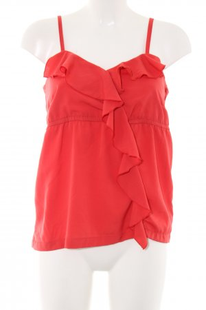 Vero Moda Frill Top red casual look