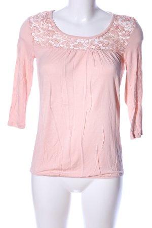 Vero Moda Rundhalspullover pink Casual-Look