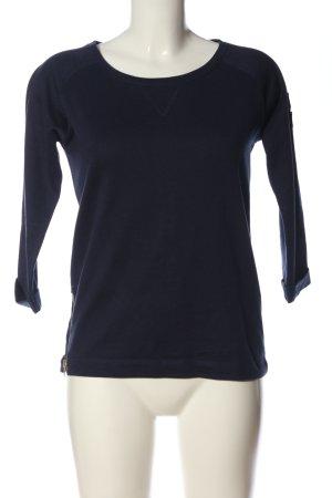 Vero Moda Rundhalspullover blau Casual-Look