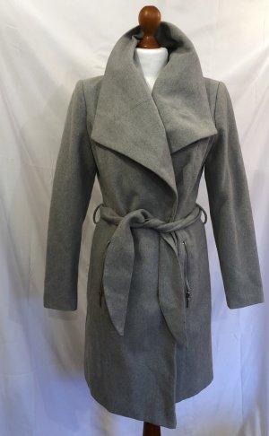 Vero Moda Abrigo de lana gris claro-gris