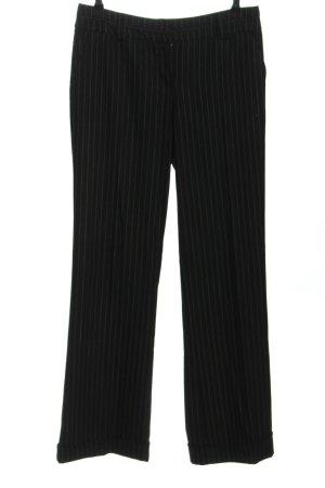 Vero Moda Pantalón de campana negro-gris claro estampado a rayas