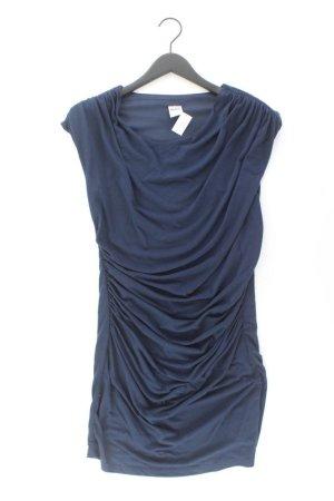 Vero Moda Schlauchkleid Größe M Kurzarm blau aus Polyester