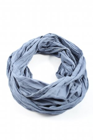 Vero Moda Bufanda tubo azul look casual