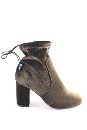 Vero Moda Schlüpf-Stiefeletten bronzefarben Casual-Look