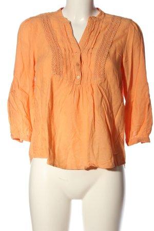 Vero Moda Schlupf-Bluse hellorange Casual-Look