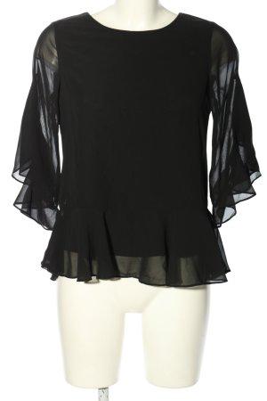 Vero Moda Schlupf-Bluse schwarz Elegant