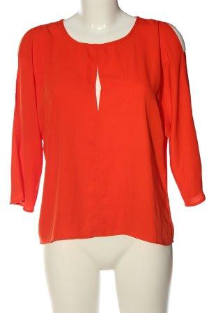 Vero Moda Schlupf-Bluse rot Elegant