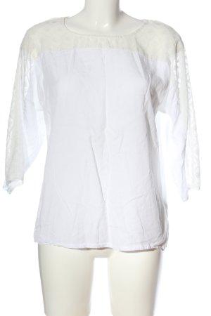 Vero Moda Schlupf-Bluse weiß Business-Look