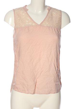 Vero Moda Schlupf-Bluse creme Casual-Look