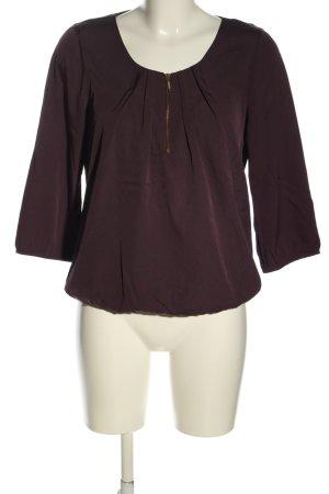 Vero Moda Schlupf-Bluse braun Casual-Look