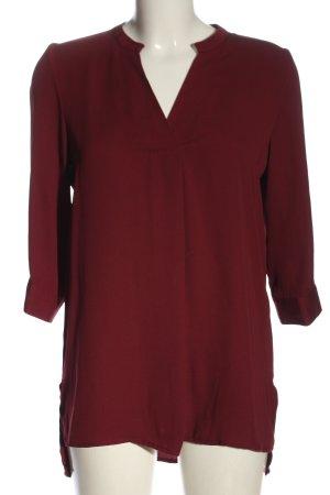 Vero Moda Schlupf-Bluse rot Business-Look
