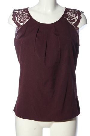 Vero Moda Schlupf-Bluse lila Casual-Look