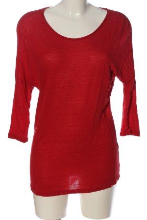 Vero Moda Schlupf-Bluse rot Casual-Look