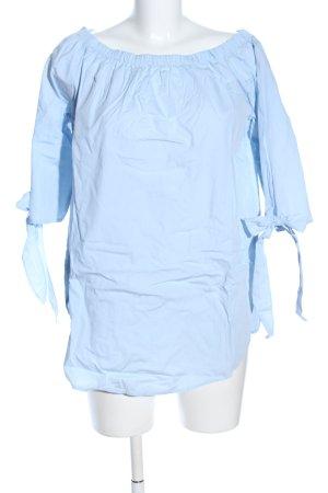 Vero Moda Schlupf-Bluse blau Business-Look