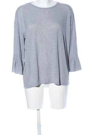 Vero Moda Slip-over blouse lichtgrijs gestippeld casual uitstraling