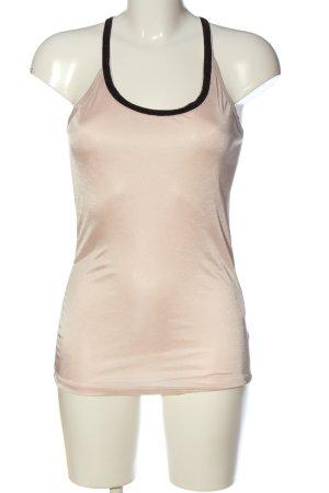 Vero Moda Schlupf-Bluse creme-schwarz Casual-Look