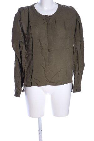 Vero Moda Schlupf-Bluse khaki Casual-Look