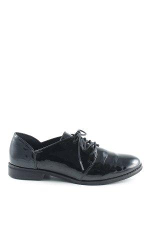 Vero Moda Schnürschuhe schwarz