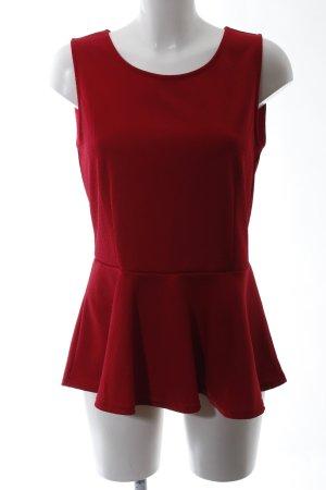Vero Moda Schößchentop rot Casual-Look