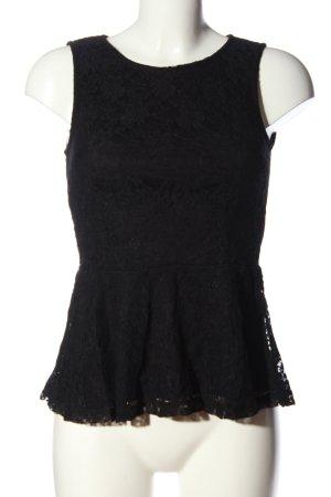 Vero Moda Top z baskinką czarny W stylu casual