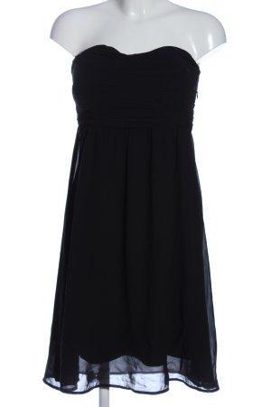 Vero Moda schulterfreies Kleid schwarz Elegant