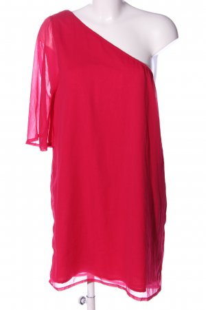 Vero Moda Vestido de un hombro rojo elegante