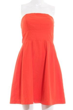 Vero Moda schulterfreies Kleid hellrot Elegant