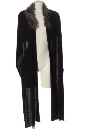 Vero Moda Châle au tricot noir style décontracté