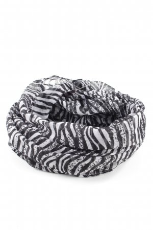 Vero Moda Shoulder Scarf white-black abstract pattern business style
