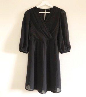 Vero Moda Chiffon Dress black mixture fibre