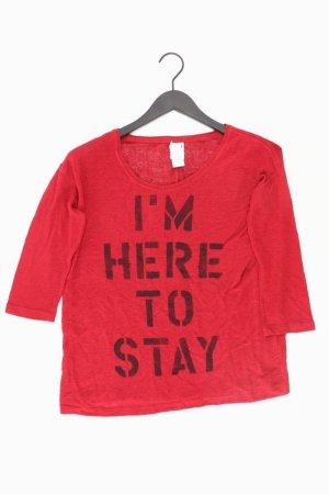 Vero Moda Shirt Größe M 3/4 Ärmel rot