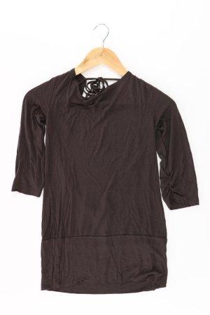 Vero Moda Shirt Größe S 3/4 Ärmel braun aus Viskose