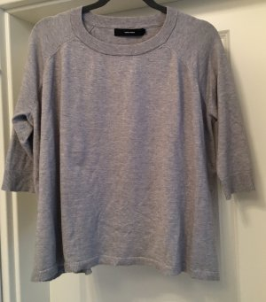 Vero Moda Shirt Sweater Pullover 3/4 Arm grau oversized Gr M