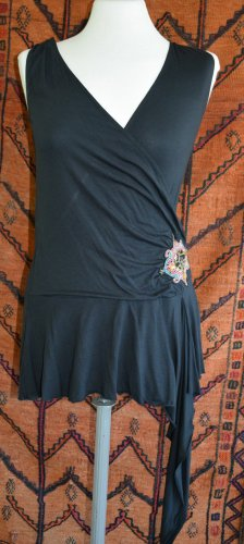 Vero Moda - Shirt Tunika in Wickeloptik - Hippie Goa