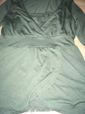 Vero Moda Shirt und Spitzentop, 2-tlg. Khaki