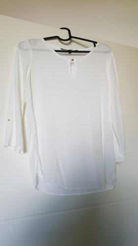 Vero Moda Bluzka typu carmen biały Wiskoza