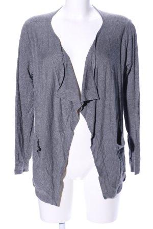 Vero Moda Shirtjacke hellgrau Allover-Druck Casual-Look