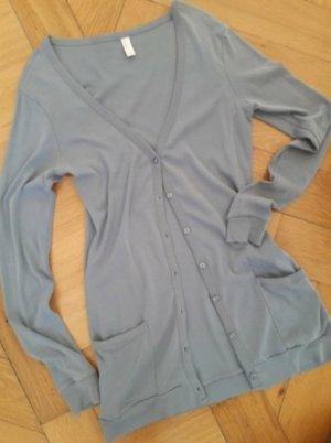 Vera Moda Chaqueta estilo camisa azul pálido Algodón