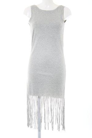 Vero Moda Shirtkleid hellgrau Casual-Look
