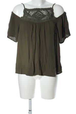 Vero Moda Shirttunika khaki Casual-Look