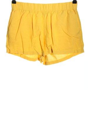 Vero Moda Shorts blassgelb Casual-Look