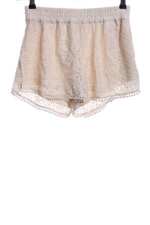 Vero Moda Shorts creme Casual-Look
