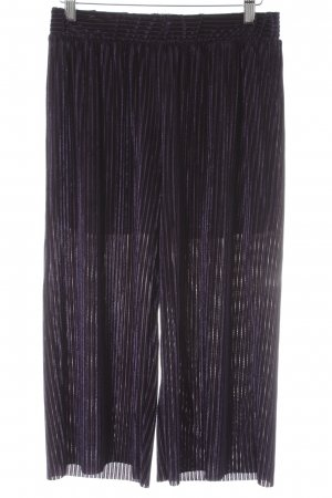 Vero Moda Shorts dunkelviolett-dunkelblau Casual-Look