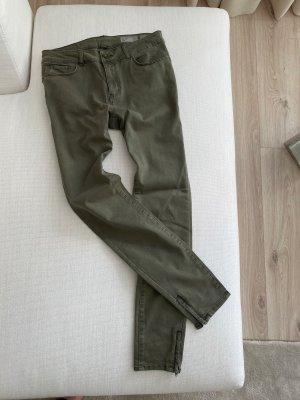 Vero Moda Jegging groen-grijs-khaki