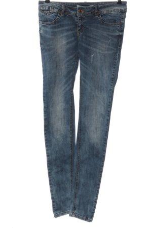 Vero Moda Skinny Jeans blau Casual-Look