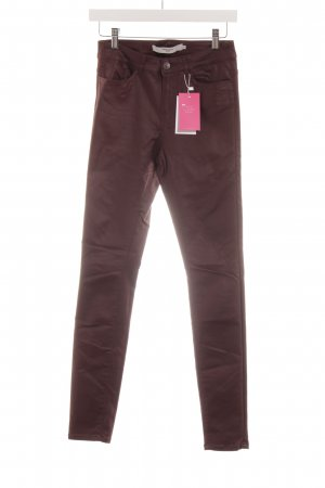 Vero Moda Skinny Jeans braunrot Casual-Look