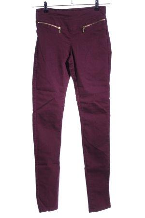 Vero Moda Skinny Jeans rot Casual-Look