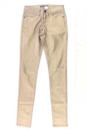 Vero Moda Skinny Jeans Größe W26 gold