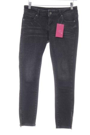 Vero Moda Skinny Jeans schwarz Washed-Optik