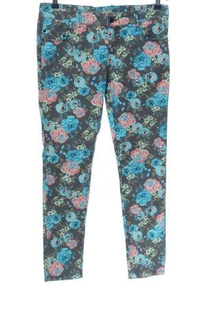 Vero Moda Slim Jeans Allover-Druck Casual-Look